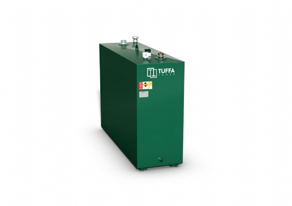 900  Litre Steel Bunded Oil Tank - Fire Protected